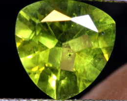 1.75  CTS  PERIDOT FACETED STONE     SG -1907 SIMPLYGEMS