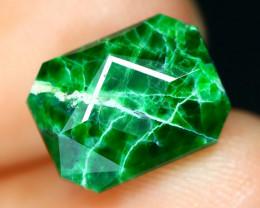 Jadeite 3.93Ct Natural Precision Master Cut Maw Sit Sit Jadeite C0715
