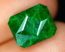 Jadeite 2.89Ct Natural Precision Master Cut Maw Sit Sit Jadeite C0730