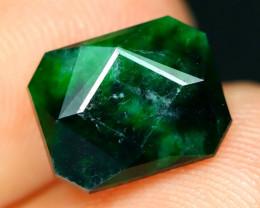 Jadeite 2.46Ct Natural Precision Master Cut Maw Sit Sit Jadeite C0734