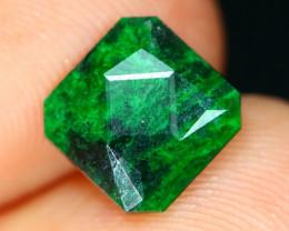 Jadeite 1.90Ct Natural Precision Master Cut Maw Sit Sit Jadeite C0737