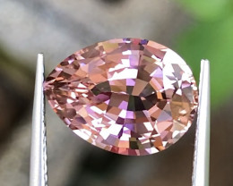 5.4 ct  Pink Tourmaline With Excellent Luster And Fine Cutting  Gemstone