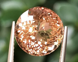 6.7ct Padparadscha Colors  Tourmaline With Excellent Luster And Fine Cuttin
