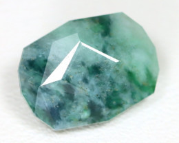 Jadeite Jade 5.82Ct Master Cut Natural Green Jodeite Jade ET18
