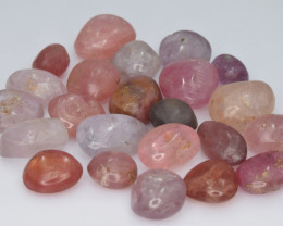101.14 Cts Natural Spinels Multicolr Polished Tumbled Lot