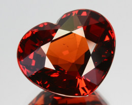 7.52 Cts Gorgeous Natural Rare Coke Red  Spessartite Garnet