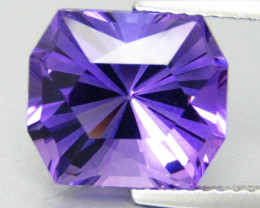 5.18Cts Superior Quality Natural Amethyst Fancy Cut Loose Gemstone VIDEO