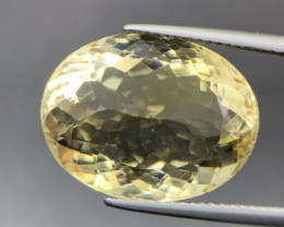 16.95 Cts Excellent Yellow Citrine. Ctr-5384