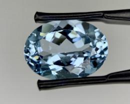 8.94 Cts Swiss blue topaz gemstone