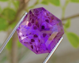 Amazing 17.40Ct Gorgeous Color Natural Amethyst Amethyst