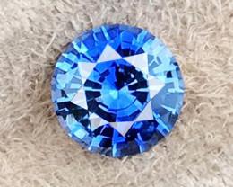2.11 CT SAPPHIRE COLOR PLAY BLUE UNHEATED 100% NATURAL SRI LANKA