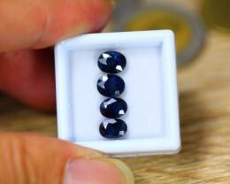 4.57ct Natural Ceylon Blue Sapphire Oval Cut Lot  GW9181