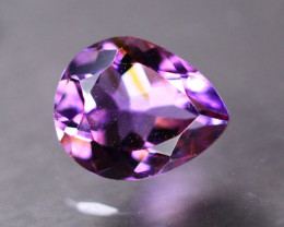 3.79ct Natural Purple Amethyst Pear Cut Lot GW9190