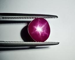 3.15 Cts Beautiful Natural Sweet Pink Burmese Star Ruby Gem