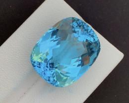 Sky Blue Topaz 42.00Ct Natural Blue Topaz Topaz Gemstone
