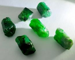Rough Natural Emerald - Brazil