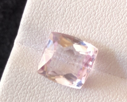 4.35 carats, Natural Pink Kunzite.