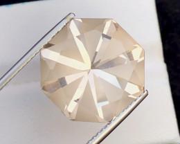 Natural 21.95 Carat Top Quality Fancy German Cut Topaz Gemstone