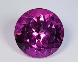4.47 Ct Top Quality Round Cut Natural Pink Topaz