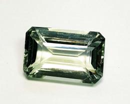 11.88 ct Top Quality Gem Stunning Octagon Cut Natural Green Amethyst