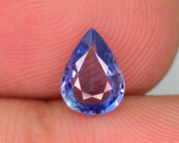 Top Quality 1.10 ct Blue Color Sapphire Clean Piece