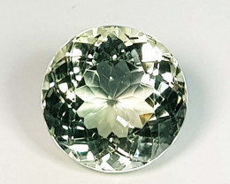 5.60 ct Top Quality Gem Stunning Round Cut Natural Green Amethyst
