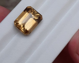 7.55 Carats Natural Citrine Nice Colour From Brazil
