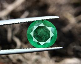 2.74 CTS Top Green Emerald Gem