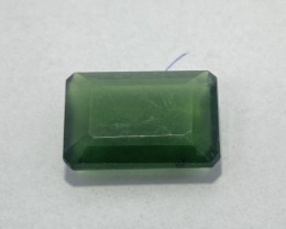 1.29 Cts Natural Serpentine faceted loose Gemstone 1