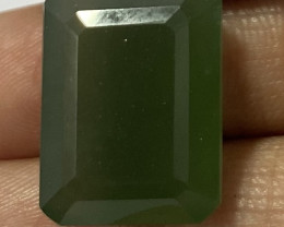 3.15 Cts Natural Serpentine faceted loose Gemstone 5