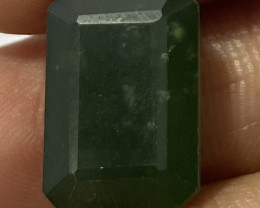 2 Cts Natural Serpentine faceted loose Gemstone 6