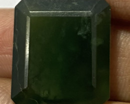 3.90 Cts Natural Serpentine faceted loose Gemstone 7