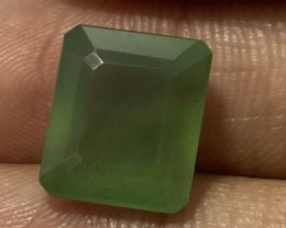 1.26 Cts Natural Serpentine faceted loose Gemstone 12
