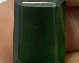 1.33 Cts Natural Serpentine faceted loose Gemstone 19