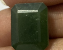 1.80 Cts Natural Serpentine faceted loose Gemstone 23