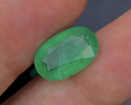 4.60Carat Green Emerald Ethiopia