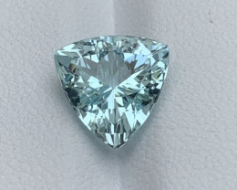 Natural Aquamarine gemstone.