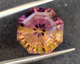 16.05 carat Natural precision Cut Ametrine gemstone.