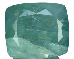 4.37 Cts Extremely Rare Natural Grandidierite Cushion Madagascar