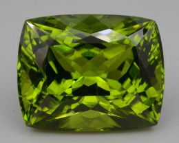 AAA Natural Himalayan Forest Green Peridot 38.39 Cts, Top Quality