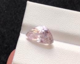 5.25 carats, Natural Pink Kunzite.