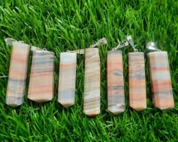 557.30 Carats 7 Carats Natural Calcite Pendants