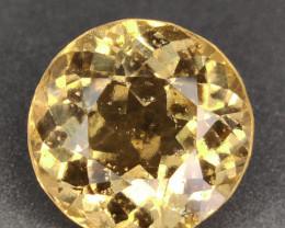 18.68 Cts Natural golden yellow Hessonite Garnet round cut Gemst