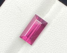 Natural Rhodolite 3.35 cts Sparkling Gemstone