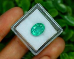 Muzo 3.19Ct Natural Colombian Emerald Neon Mint Green Beryl A1307
