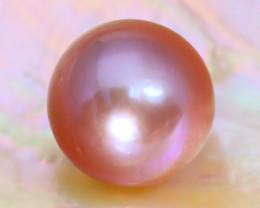 12.7mm 14.53Ct Natural Australian South Sea Purple Color Pearl C1311