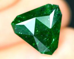 Jadeite 6.41Ct Precision Master Cut Natural Burmese Jadeite Jade ET145