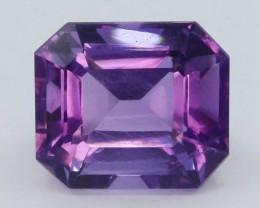 5.70 CT Natural Gorgeous Color Fancy Cut Amethyst T