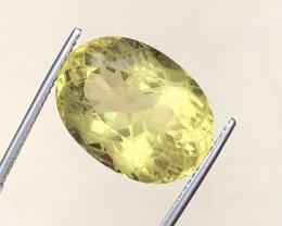 Brilliant Color  19.80 Ct Natural Citrine gemstone