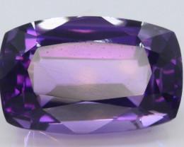 11.85 CT Natural Gorgeous Color Fancy Cut Amethyst T